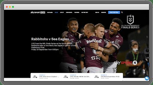 Watch live sports on Sky Sports Now