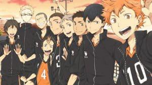 best sports anime haikyuu
