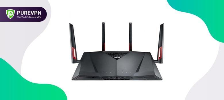 best vpn routers Asus RT-AC88U AC3100 Dual Band Gigabit WiFi Gaming