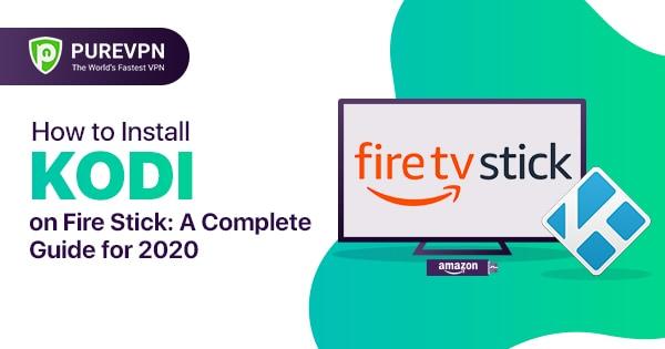 Install kodi on fire stick