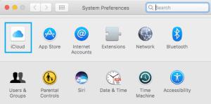 icloud tab mac settings