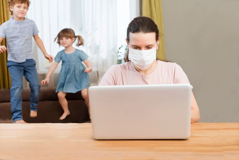 remote working in coronavirus outbreak