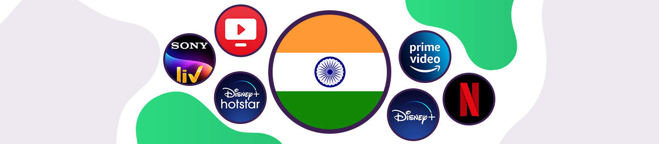 streaming services in india