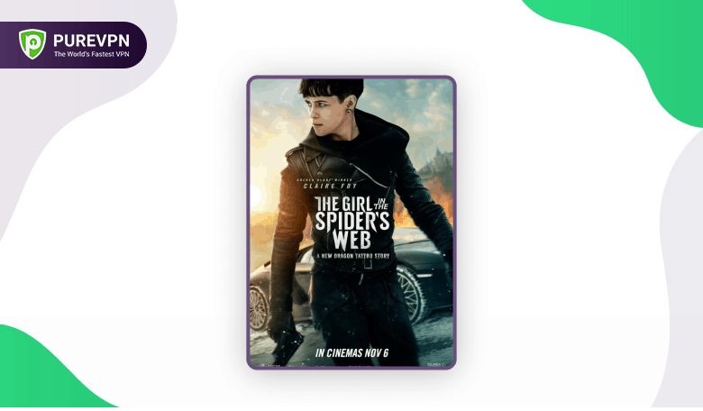 The Girl in the spider's web - best hacker movie