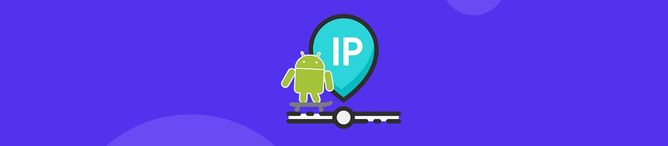 find ip address on android
