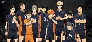 volleyball anime Haikyuu!!